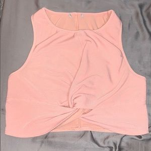 Forever 21 twisted rib sports bra size M